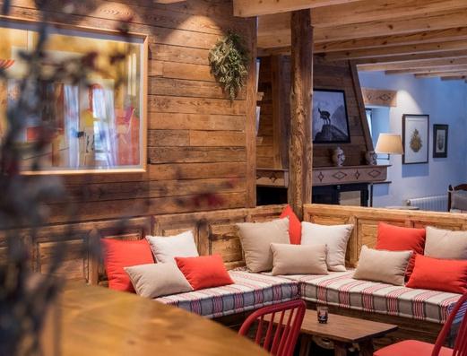 Sala de estar Hotel Chalet Val de Ruda