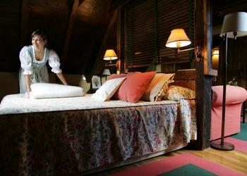 SERVICIO DE HABITACIONES Hotel Chalet Val de Ruda