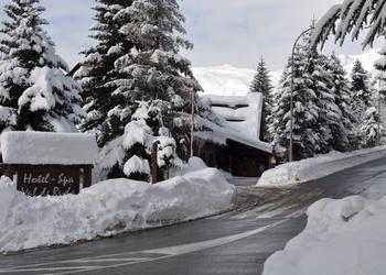 PARKING EXTERIOR GRATUITO Hotel Chalet  Val de Ruda